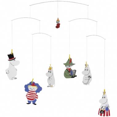 Flenstead Moomin Mobile, baby mobile, kids mobile