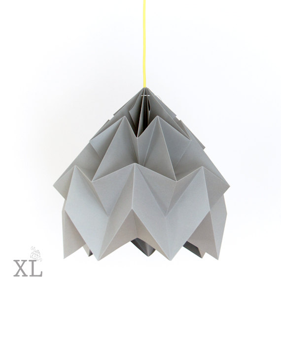Moth Origami Lampshade by Studio Snowpuppe
