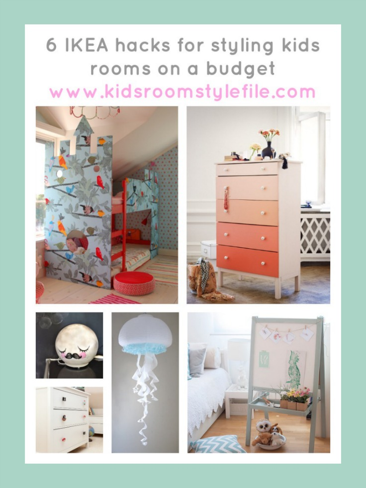 6 IKEA hacks for styling kids rooms on a budget, IKEA hacks, Kids Interior Design IKEA hacks