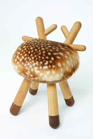 Bambi Chair by EO, Bambi Chair shaped like an abstract deer