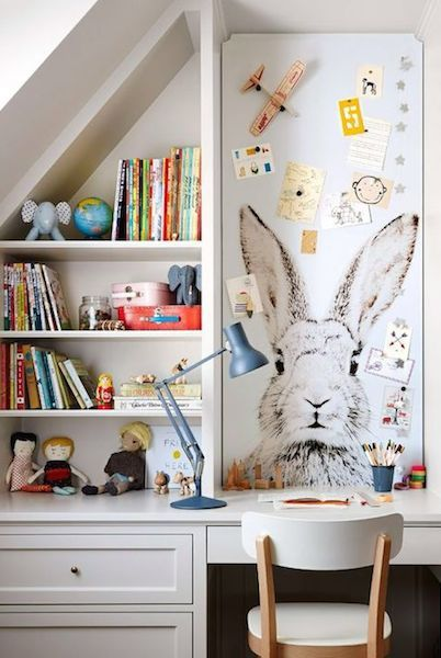 Built in desk, Kids Room Style Ideas, Kids Decor
