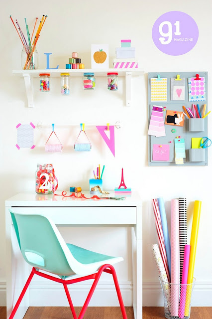 Charlotte Lovey Interior Stylist, kids desk inspiration