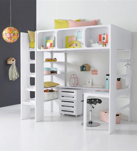 La Redoute Loft Bed with Desk