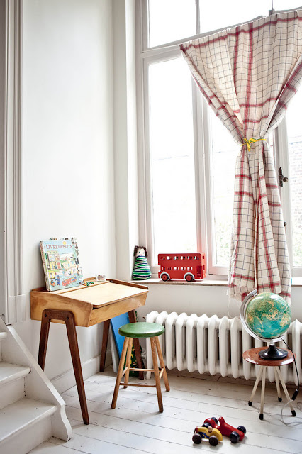Milk Magazine, kids room style ideas, Kids desk, kids decor