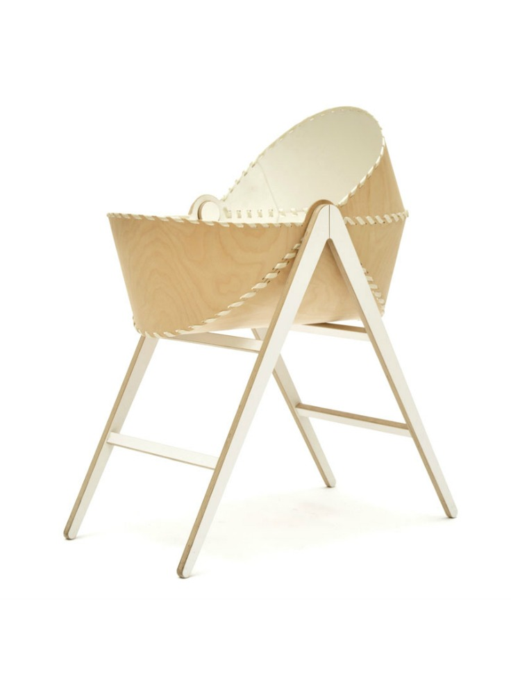 Unto This Last Moses Basket and Stand Plywood