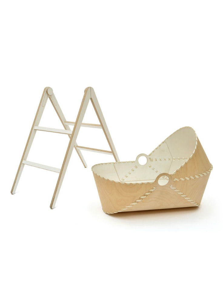 Unto This Last Moses Basket off Stand Plywood